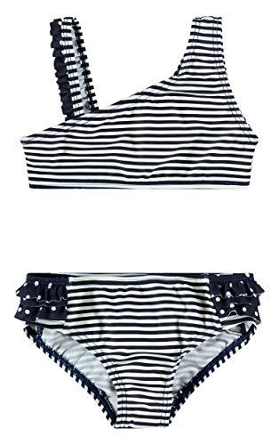 NAME IT Mädchen Bikini NMFZANANA Bikini, Größe:86/92, Farbe:Dark Sapphire