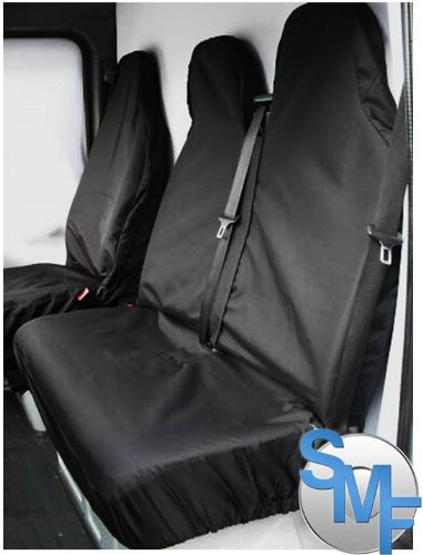 SHIPLEYMF SMF1-56252 New Shape Van Seat Covers Racing Blue 2+1