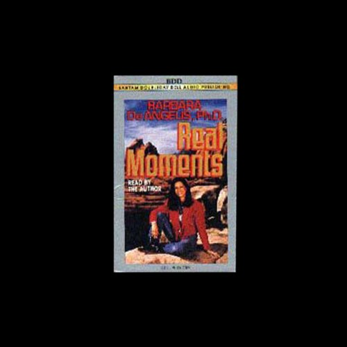 Real Moments audiobook cover art