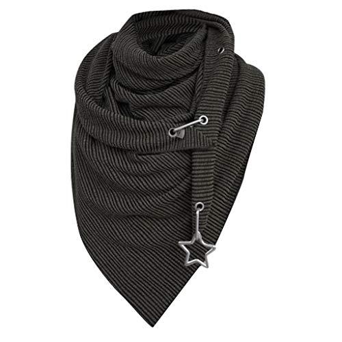 PPangUDing Schal mit Knopf Soft Wrap Multifunktionstuch 2020 Neu Atmungsakt Schnelltrocknend Winddicht Schlauchschal Halstuch Bandana Persönlichkeit Mode Gift für Radfahren Fischen Wandern