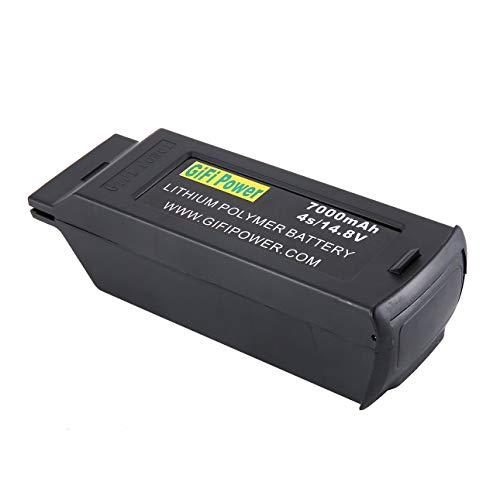 Ballylelly 7000mAh Batterie mit großer Kapazität 14,8 V 4S Verbesserter Ersatz-Lipo-Batterie-Drohnen-Akku für Yuneec Typhoon H H480