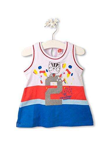 Tuc Tuc 48305 Vestido, Multicolor (Unico), 98 (Tamaño del Fabricante:3A) para Bebés