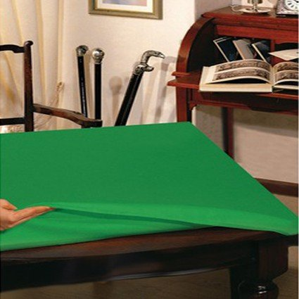 Grüne Tischdecke Schutzhülle 12 Plätze cm 135x220