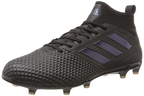 adidas Men's Ace 17.3 Firm Ground Football Boots Fitness Shoes, Multicolour (Multicolour Black), 7 (40 2/3 EU)