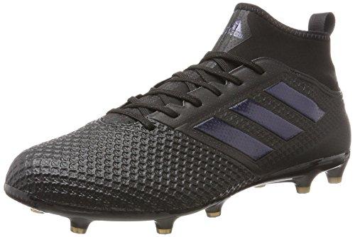 adidas Herren Ace 17.3 FG Hallenschuhe, Schwarz Core Black Core Black Utility Black, 40 2/3 EU