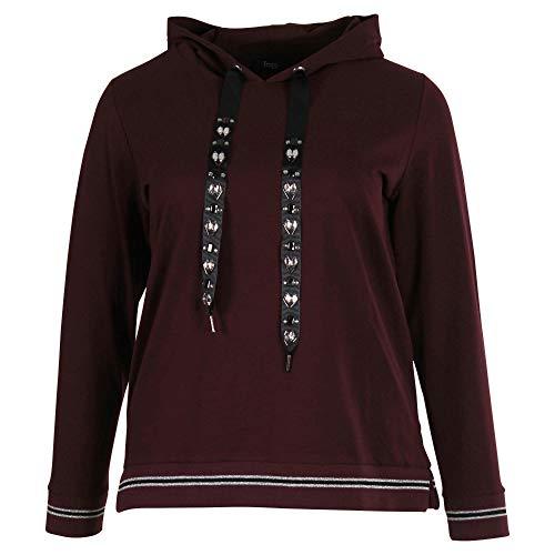 Frapp Feminines Sweatshirt mit Ziersteinen