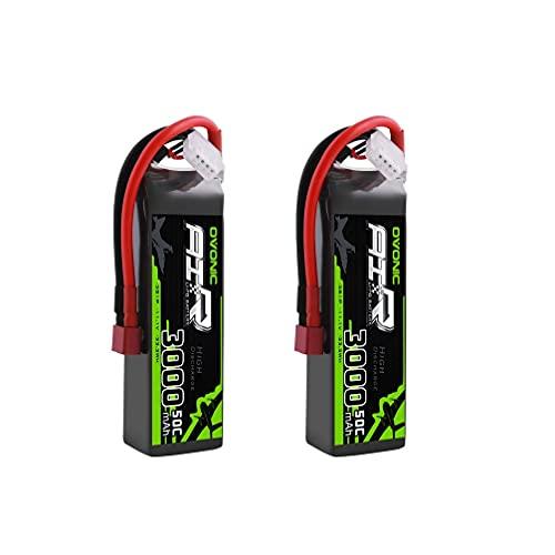 Ovonic 3S 11.1V 3000mAh 50C Lipo Battery