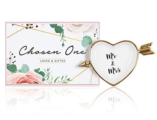 Mr and Mrs Ring Holder - Chosen One Ring Dish / Ring Holders for...