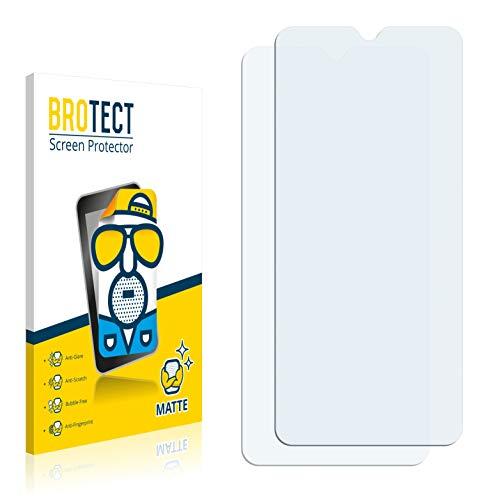 BROTECT 2X Entspiegelungs-Schutzfolie kompatibel mit Xiaomi Redmi 9C Bildschirmschutz-Folie Matt, Anti-Reflex, Anti-Fingerprint