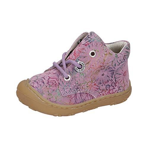 RICOSTA Kinder Boots DOTS von Pepino, Weite: Mittel (WMS),lose Einlage,Booties,flexibel,leicht,Kids,Kinderschuhe,Purple (323),24 EU / 7 Child UK