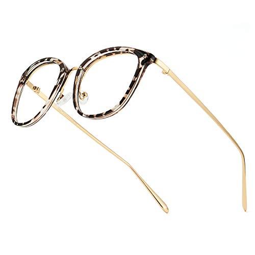 Cyxus Montature Occhiali da vista,occhiali blu che bloccano la luce Occhiali da gioco per computer anti mal di testa affaticamento degli occhi per donne e uomini bambini