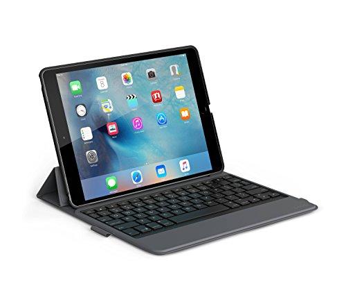"ZAGG Messenger Folio non-Backlit Case with Keyboard for Apple iPad Pro 9.7"" - Black"