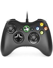 Dhaose Xbox 360 Mando de Gamepad, Mando PC, Controlador Mando USB de Xbox 360 con Vibración, Controlador de Gamepad para Xbox 360 Mando Windows XP/7/8/10