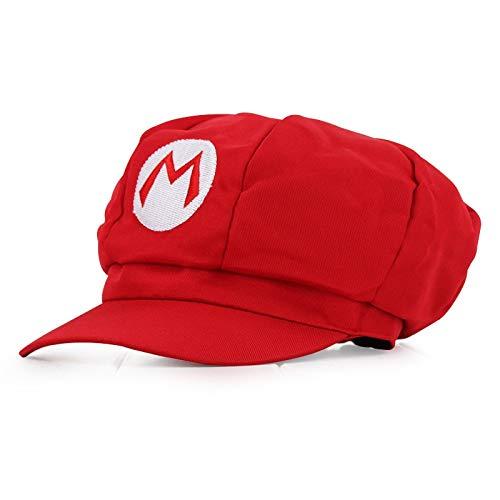 Sombrero de Super Mario Hip Hop Juego Super Mario Odyssey Cosplay sombrero adulto niño Anime Super Mario sombrero gorra Luigi Bros Cosplay gorra