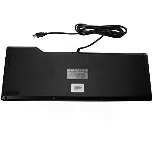 Das Keyboard 4 Professional   Cherry MX Braun Soft Clicky UK Layout (DASK4MKPROSIL-UK)