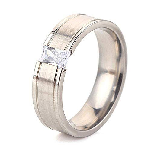 JY Compromiso eterno compromiso anillo de bodas masculino / 19mm