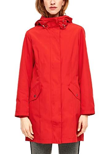 s.Oliver RED Label Damen Mantel mit fixierter Kapuze red 36