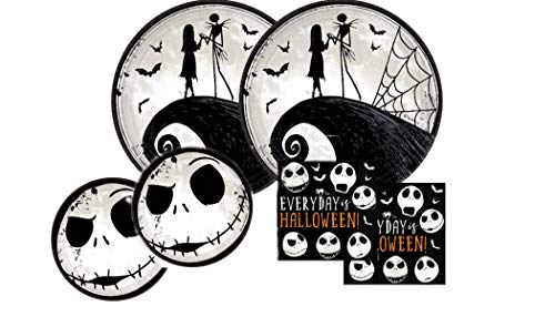 Nightmare Before Christmas Halloween Party Bundle for up to 16 Guests.