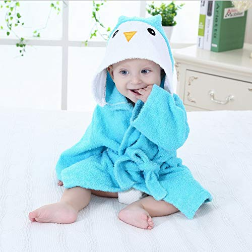 Siera Hooded Animal Modeling Baby Bademantel Cartoon Baby Spa Handtuch Charakter...