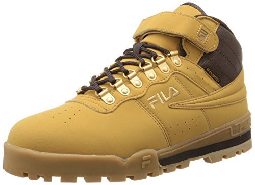 Fila Men's f-13 Weather tech-m, Wheat/Espresso/Medium Gold, 8.5 M US