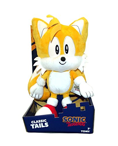 Sonic the Hedgehog Classic Game Tails Large Plush Doll, 12 inches