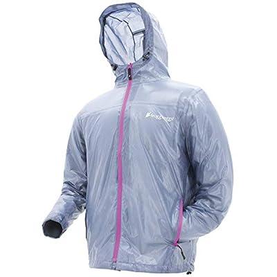 Frogg Toggs Xtreme Lite Waterproof Rain Jacket, Medium, Blue/Pink