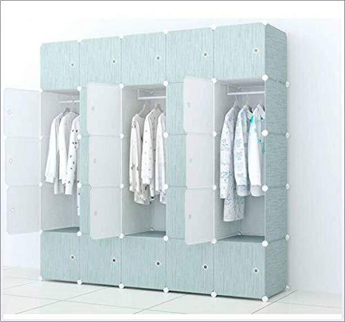 Haushaltsprodukte Tragbarer Kleiderschrank Aufbewahrungsschrank Holzmuster Tragbarer Kleiderschrank zum Aufhängen von Kleidung Kombinationsschrank Modularer Schrank zur Platzersparnis Idealer Aufbe