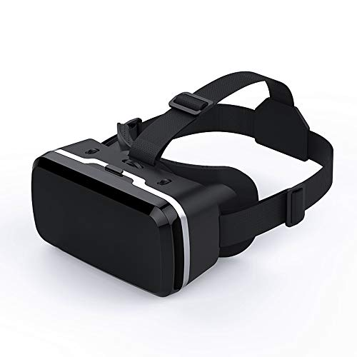 LMJ Outsider VR-Brille 3D, Virtual-Reality-Gaming-Brille Helm Panoramaspiegel Eye Care System für iPhone und Android-Smartphones
