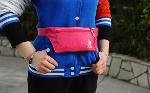 ZYT Montage de poitrine poche multifonction slim hommes et les femmes exécutant des poches de sports en plein air stealth . 6