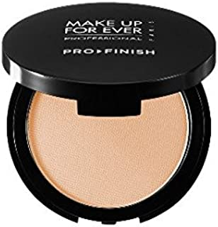 Make up for Ever Pro Finish Multi-use Powder Foundation Size 0.35 Oz Color 117 Golden Ivory