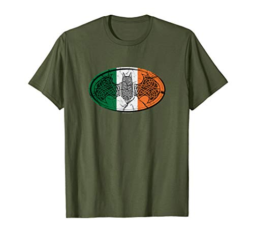 Batman Irish Celtic Symbol T-Shirt