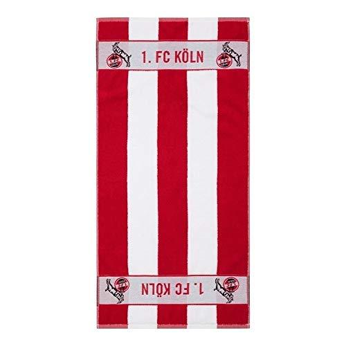 1. FC Köln Handtuch Blockstreifen 50 x 100 cm