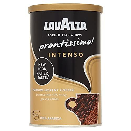 Lavazza Prontissimo Intenso, 100% Arabica, Medium Roast Instant Coffee, Pack of 95g
