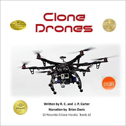 Clone Drones Audiobook By RC Carter, JP Carter cover art