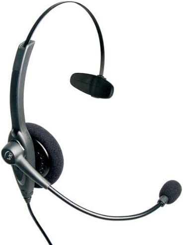 high quality VXi 201559 Passport 10V Over-the-Head Monaural Headset online popular with N/C Microphone outlet sale