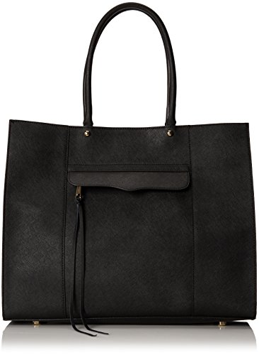 Rebecca Minkoff M.A.B. Travel Tote,Black,One Size