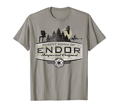 Star Wars Endor Imperial Outpost Destination T-Shirt