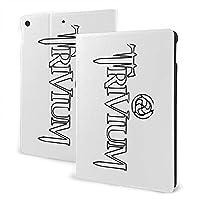 Collection Of Trivium Tattoo トリビウム 音楽 ロック iPad 7 ケース Ipad 10.2 インチ IPad 第7世代ケース Ipad Air3 ケース IPad Air3 10.5インチ 対応 IPad Pro 10.5ケース IPad Pro10.5インチ保護カバー 耐衝撃 磁気吸着 手帳型 ケース 軽量 薄型 ブックカバーデザイン 角度調節可能な鑑賞スタンド オートスリープ機能/ウェイク