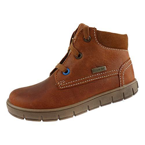 Richter schoenen voor jongens veterschoen Cognac 11244412901