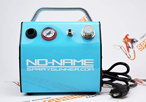 Skyline Airbrush Compressor by NO-NAME Brand with built-in mini air tank (SprayGunner special)