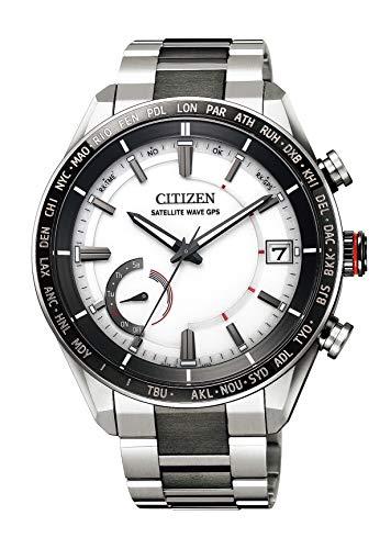 [シチズン] 腕時計 アテッサ F150 Eco-Drive エコ・ドライブGPS衛星電波時計 ダイレクトフライト ACT Line CC3085-51A メンズ ホワイト