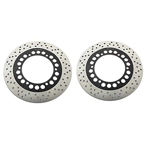 YIXUNBAIHUO Rotores De Discos De Freno Delantero De Motocicleta para K&awasaki GPX 500 R 88-21 GPZ 1000 RX 86-89 GPZ 1100 83-93 GPZ 750 R para Ninja 85-87 GPZ 900 R (Color : 2)