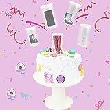 ZHURGN Accesorios para Pasteles, 2 IN1 Surprise Pastel de Pastel, Pastel de Sorpresa, Pastel Pop Maker, para Niños Cumpleaños Pastel de Cumpleaños Decoración de la Fiesta de Boda 10 Pulgadas