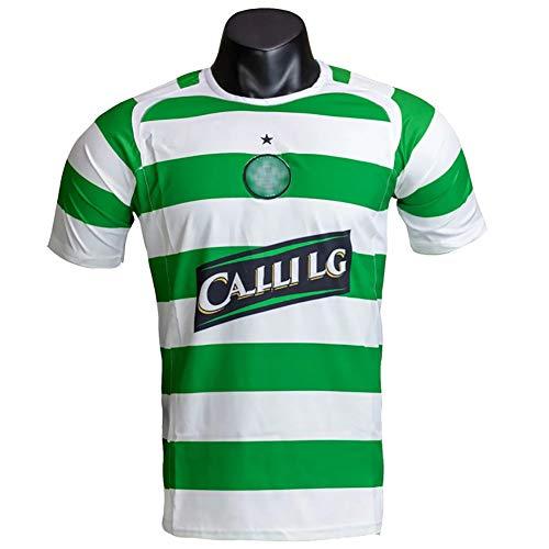 MRRTIME Hombres de Camisetas de fútbol Vintage, 05-06 Camiseta Retro Celta Camiseta de fútbol Conmemorativa Uniforme de fútbol de poliéster para Adultos, S-2XL-2XL