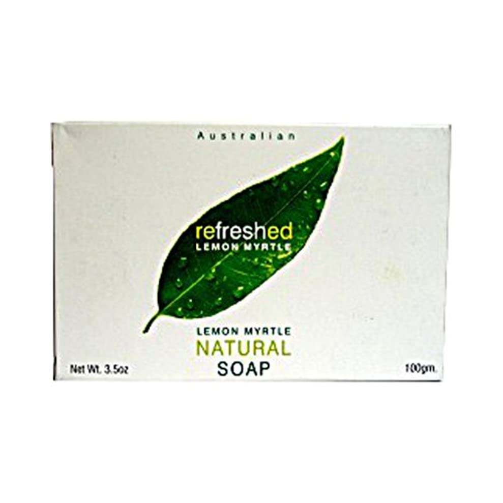 おめでとう巨大作家Lemon Myrtle Natural Soap - 3.5 oz by Tea Tree Therapy