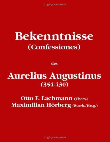 Bekenntnisse (Confessiones)