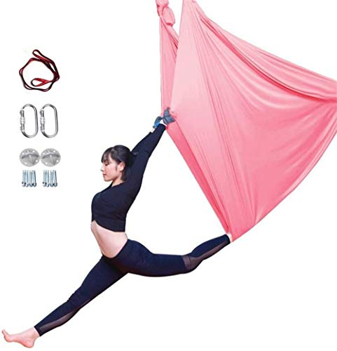 Review YAOSHUYANG Aerial Yoga Hammock, Aerial Yoga Swing Set, Ultra Strong Antigravity Yoga Hammock/...