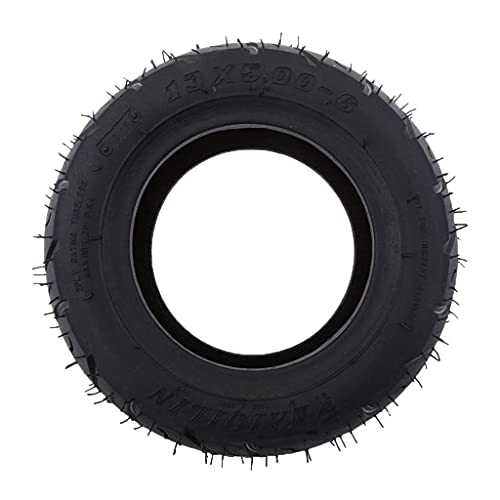 Neumáticos patinetes eléctricos, 13X5-6 pulgadas, neumáticos goma motocicletas, neumáticos patinetes, neumáticos bicicletas...