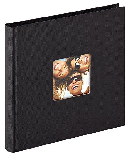 Walther design FA-199-B Designalbum Fun, schwarz, 18 x 18 cm
