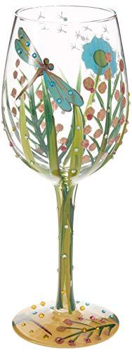 Enesco Lolita Copa de Vino de cristal, 444 ml, Multicolor